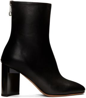Maison Margiela Black Leather Boots