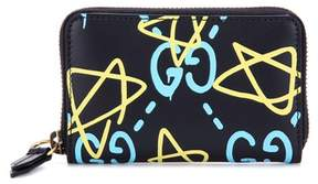 Gucci GucciGhost printed leather wallet - BLACK - STYLE