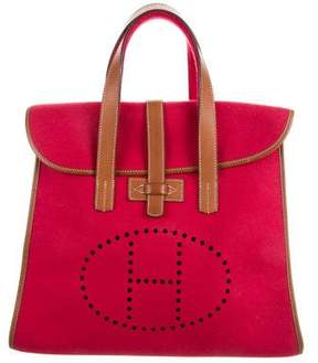 Hermes Wool Feudou Bag