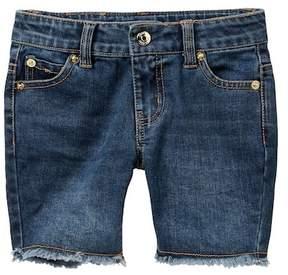 Juicy Couture Stretch Denim Shorts (Little Girls)