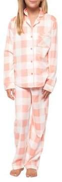 Dex Girl's Two-Piece Printed Shirt and Pants Pajama Set