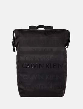 Calvin Klein logo square backpack