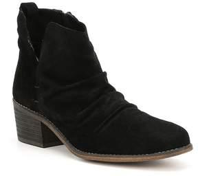 Coolway Kandy Suede Block Heel Booties