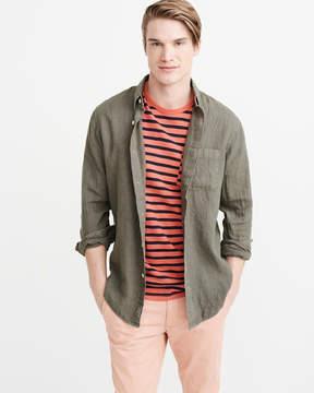 Abercrombie & Fitch Linen Shirt