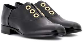 Pierre Hardy Polished leather derby shoes