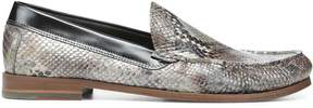 Donald J Pliner NATE, Boa Print Leather Loafer