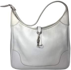 Hermes Trim leather handbag - GREY - STYLE