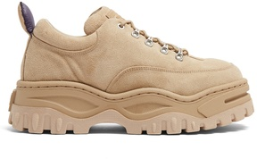Eytys Angel low-top chunky-sole suede trainers