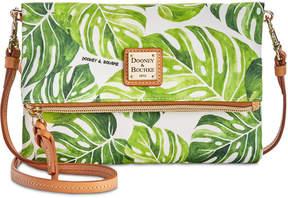 Dooney & Bourke Palm Montego Foldover Small Crossbody - GREEN - STYLE