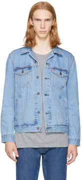 Levi's Levis Blue Denim The Trucker Jacket