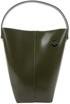 Kara Green Patent leather Handbag
