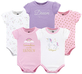 Hudson Baby Magical Unicorn Bodysuit - Set of Five