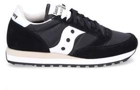 Saucony Men's Black Suede Sneakers.