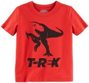 Osh Kosh Oshkosh Bgosh Boys 4-8 T-Rex Dinosaur Graphic Tee