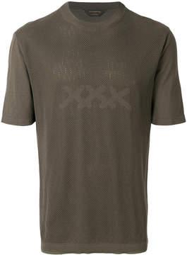 Ermenegildo Zegna Couture mesh style T-shirt