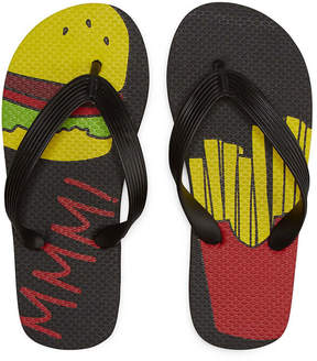 Arizona Hamburger & Fries Flip Flops - Boys 4-20