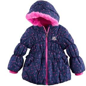 ZeroXposur Toddler Girl Brenna Heavyweight Heart Print Jacket