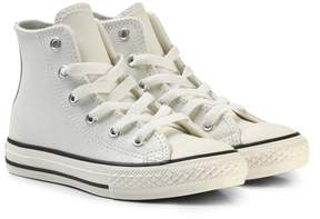 Converse White Kids Chuck Taylor All Star Hi-Tops