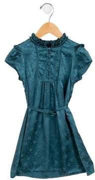 Little Marc Jacobs Girls' Silk Floral Dress