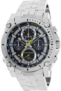 Bulova Men's Precisionist Stainless Steel Watch, 47mm