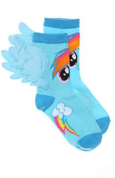 My Little Pony Girls Rainbow Dash Toddler & Youth Crew Socks