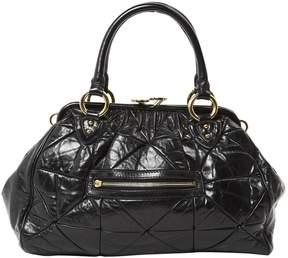 Marc Jacobs Stam leather handbag - BLACK - STYLE