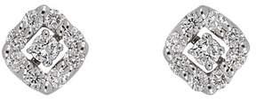 Bony Levy 18K White Gold Pave Diamond Stud Earrings - 0.13 ctw