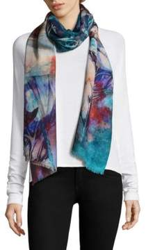 Bindya Abstract Floral Stole