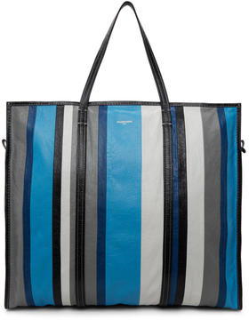 Balenciaga Blue Bazar Shopper XL Tote