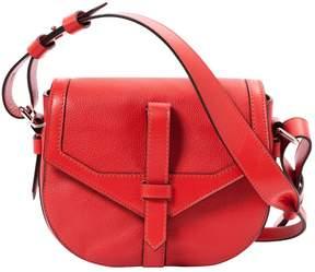 Lancel Red Leather Handbag