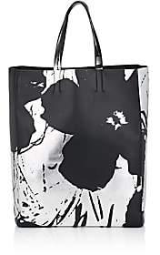 Calvin Klein Women's Soft Leather Tote Bag - Black