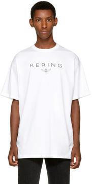 Balenciaga White Kering T-Shirt