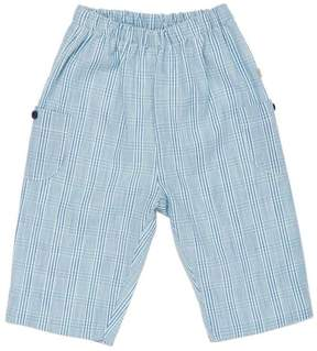 Marie Chantal Baby Boy Cotton Check Pull on Pant