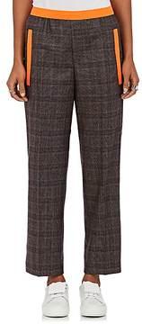 Kolor Women's Checked Wool-Blend Flannel Pants