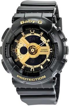 Casio Baby G Black Resin Ladies Watch