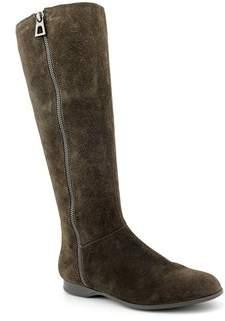 Enzo Angiolini Womens Zemi Fabric Almond Toe Mid-calf Riding Boots.