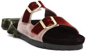 Couture Gia Velvet Sandals