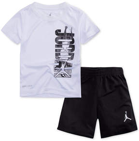 Jordan 2-Pc. Jumpman T-Shirt & Shorts Set, Little Boys