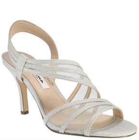 Nina Asymmetrical Strap Vitalia Sandals.
