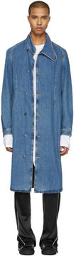 J.W.Anderson Indigo Denim Coat