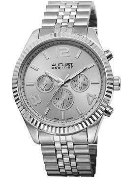 August Steiner Silver Dial Ladies Watch
