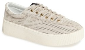 Tretorn Women's Bold Perforated Platform Sneaker