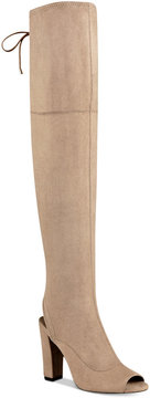 G by Guess Disk Over-The-Knee Boots Women's Shoes