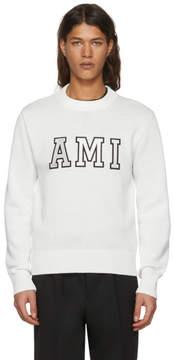 Ami Alexandre Mattiussi Off-White Logo Sweater