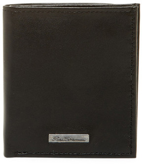 Ben Sherman Brick Lane Leather Slim Square Passcase Wallet