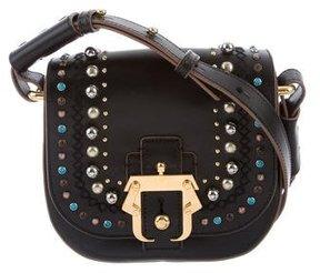 Paula Cademartori Embellished Petite Babeth Bag