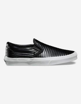Vans Moto Leather Slip-On Womens Shoes