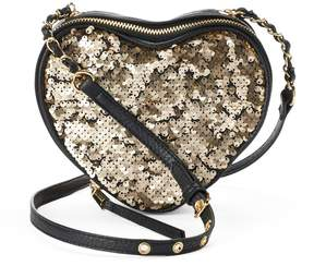 Juicy Couture Romie Sequined Heart Crossbody Bag