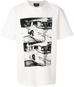 Calvin Klein x Andy Warhol Foundation Ambulance Disaster T-shirt