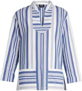 A.P.C. Tinos striped cotton top